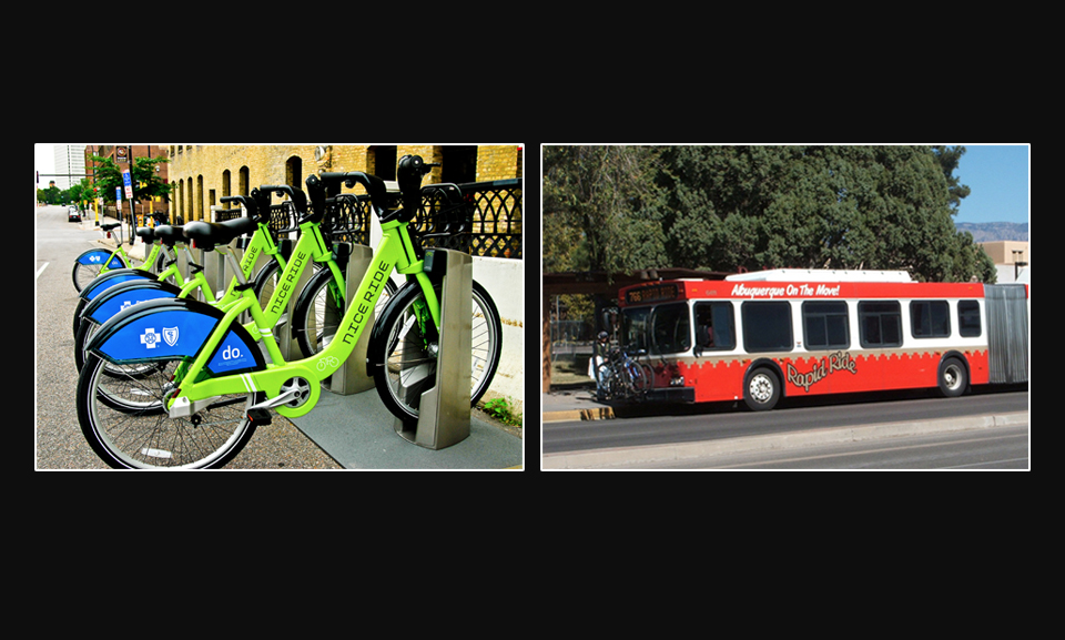 Optional: Community Solutions (Bike Share, Bus)