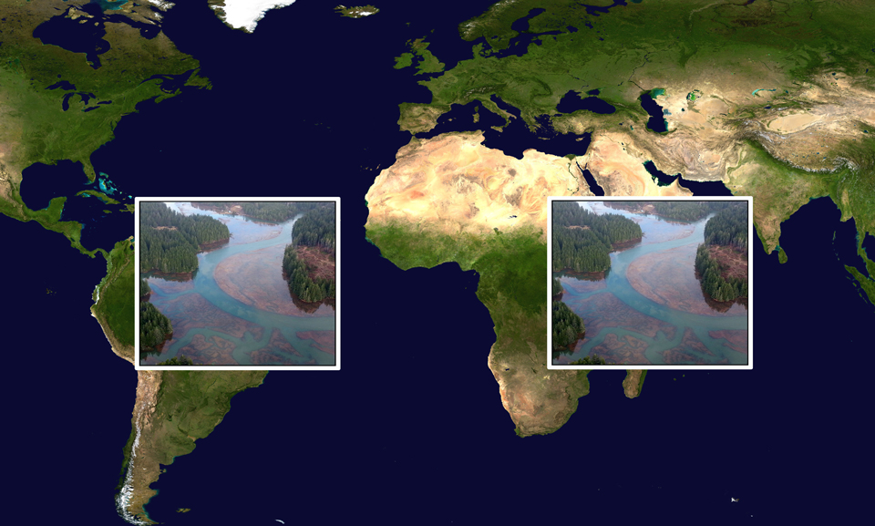 Slide 07: Flooded Marsh (on Blue Marble)
